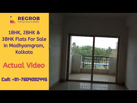 1 BHK, 2 BHK, 3 BHK Flats For Sale in Madhyamgram Kolkata | ☎️ +91-7604092445 | Ready to Move Flats from YouTube · Duration:  5 minutes 13 seconds