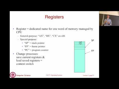 Lecture 2: OS and Architecture