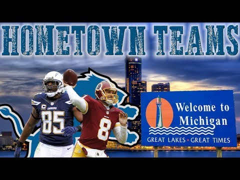 What If Only Local Players Played For The Detroit Lions