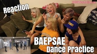 [Reaction] BANGTAN BOMB: Baepsae 뱁새 Dance Practice  (흥 ver.)