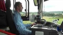 Busfahrer kritisiert schlechten Straßenzustand in Felsberg