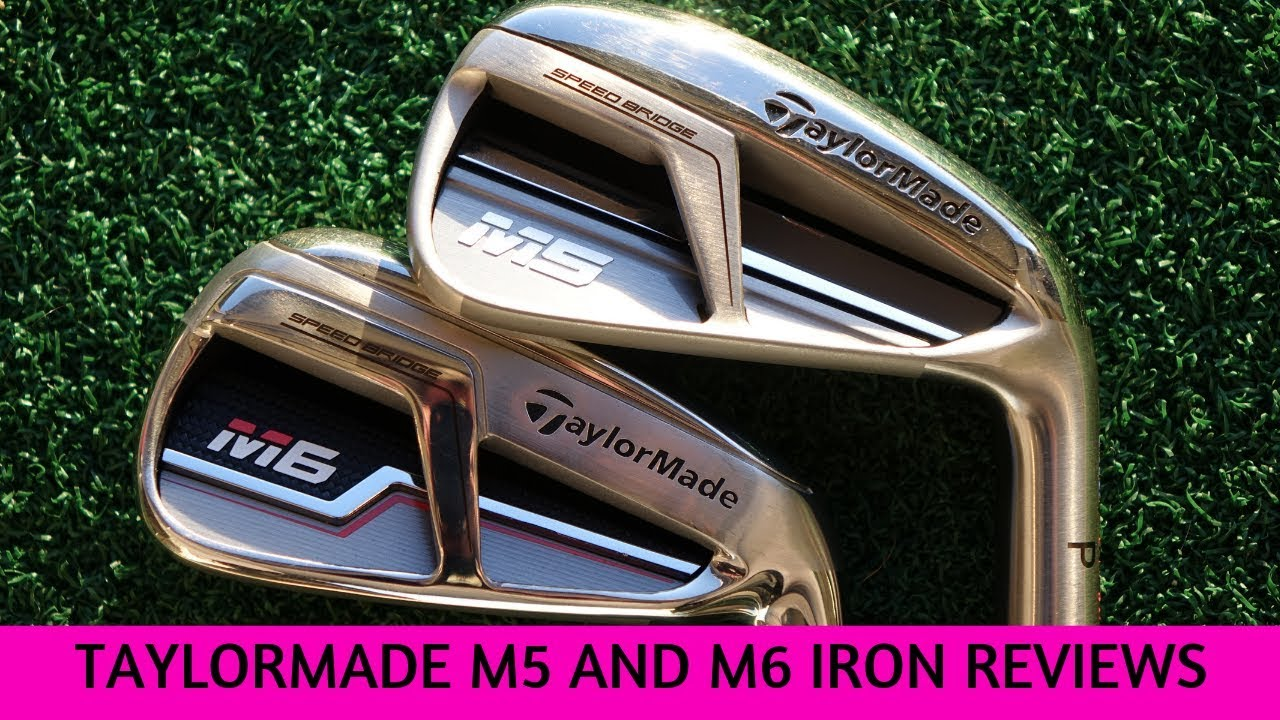 Taylormade M5 and M6 iron reviews with launch data