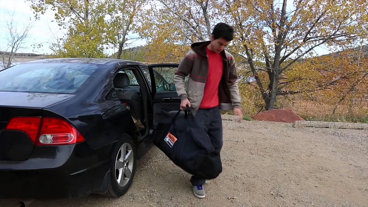 Black Pine Sports Turbo Tent & Black Pine Sports Turbo Tent - YouTube