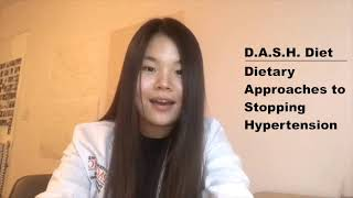 The DASH Diet presented by Alternative and Integrative Medicine