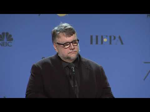 Guillermo Del Toro Press Interview - Golden Globes 2018