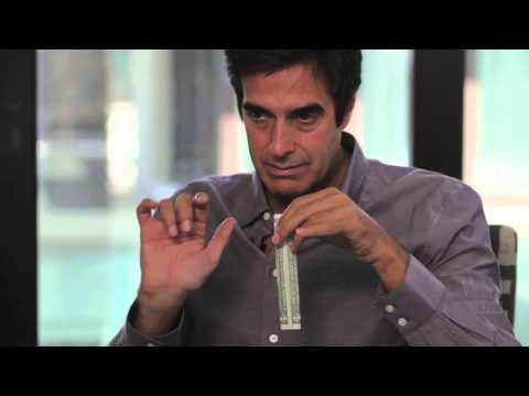 David Copperfield Teaches a Magic Trick OnCamera