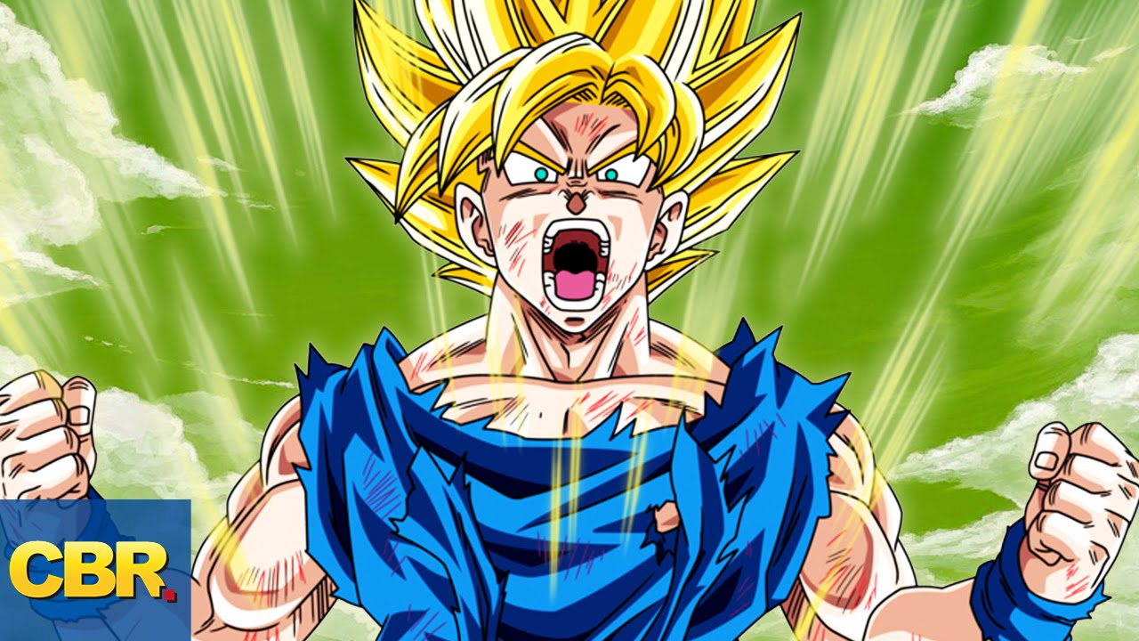 Most epic dragon ball z character transformations ever for Chambre dragon ball z