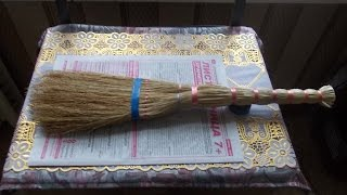 видео Бамбуковый веник для бани и методы его использования