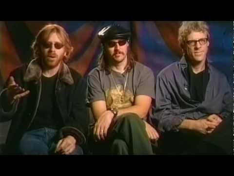 Oysterhead interview w/ Trey Anastasio, Les Claypool, Stu Copeland 10-27-2001