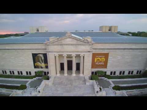 Typhoon Q500 4k JulDane Cleveland Museum of Art May2016. Drone video