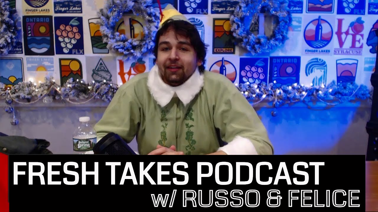 The Year in Sports & Christmas Traditions .::. Fresh Takes w/ Russo & Felice 12/17/18