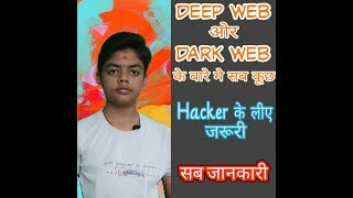 Deep Web & Dark Web Explained | Hidden Internet | Hindi | Deep Vaghasiya | Basal Deep Tech