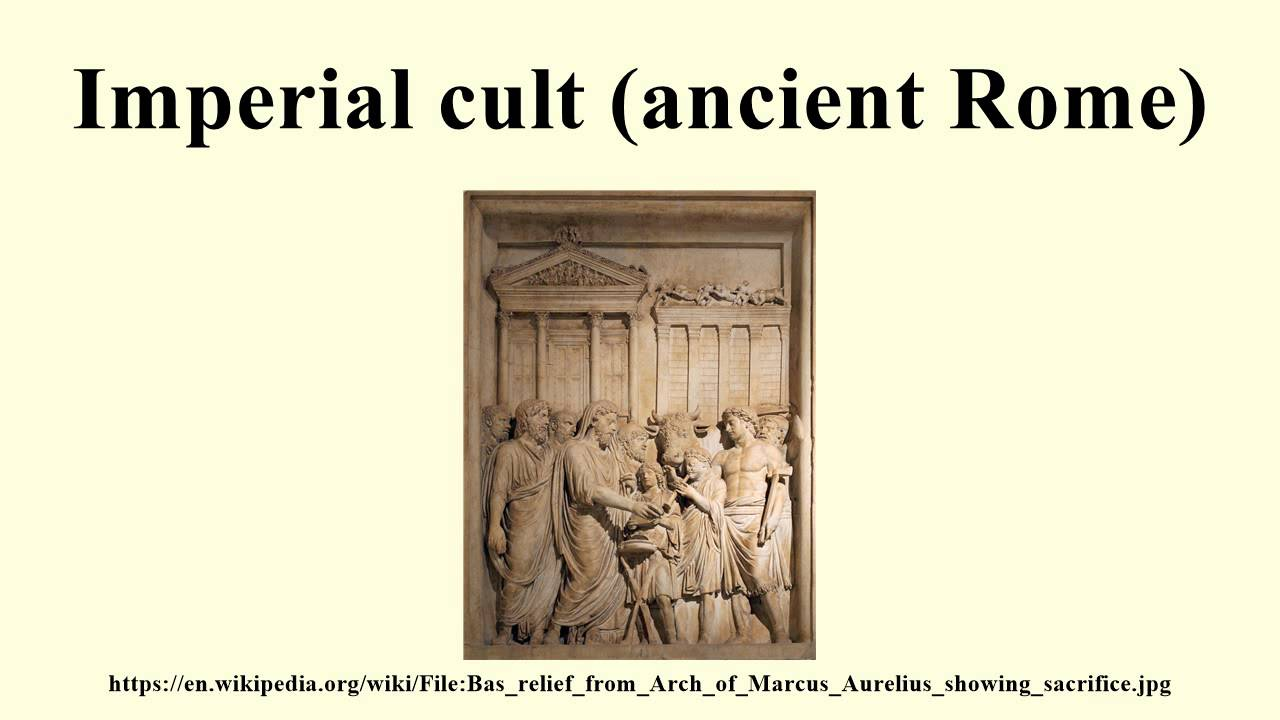 an analysis of the roman imperial cult So-called emperor worship expanded on a grand scale the traditional roman  veneration of the ancestral dead and of the genius, the divine tutelary of every.