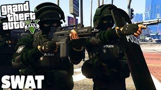 GTA 5 SWAT POLIZEI MOD - Gefährliche Einsätze! 😮 - (SEK)
