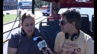 Recorriendo Montevideo en el Bus Turístico