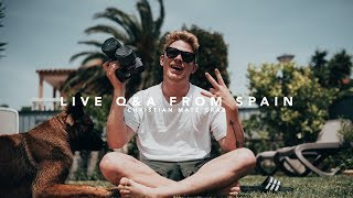 Q&a live from spain | christian maté grab