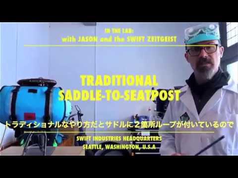 IN THE LAB WITH SWIFT - Zeitgeist Saddle Bag 2 (日本語字幕付)