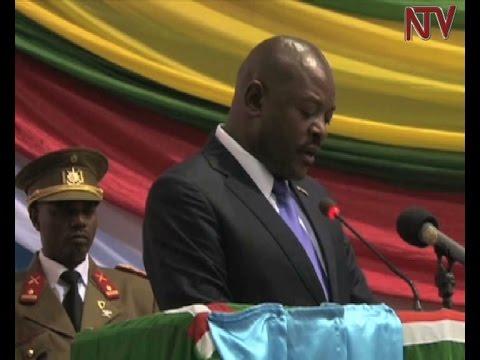 Burundi President Nkurunziza promises free elections