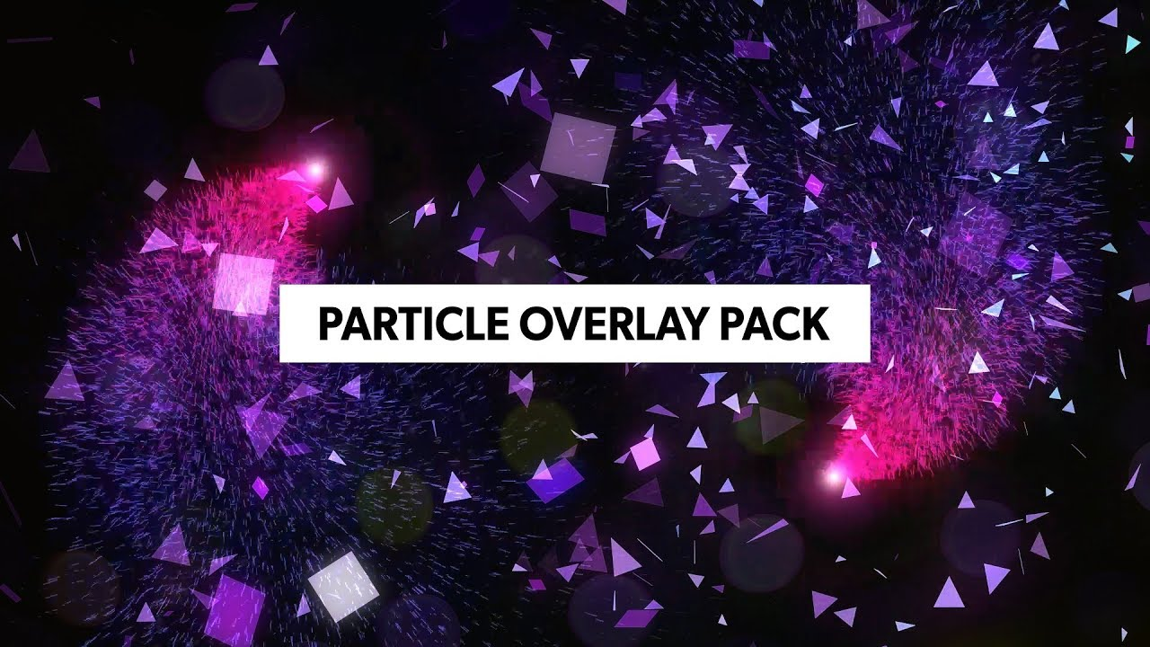 (FREE) Particles Overlay Pack - Premiere Pro, After Effects, Sony Vegas,  Final cut | Stock Footage