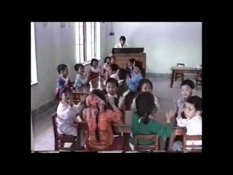 Pre-school Chengdu China 1986