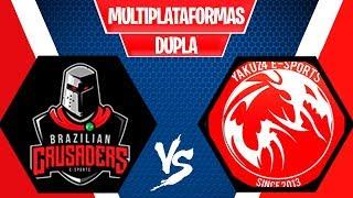 BRAZILIANS CRUSADESR vs YAKUZ4 -  TORNEIO FORTNITE MULTIPLATAFORMA - FINAL