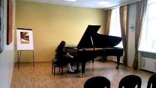 Radvilė, piano forte, Vilnius, 2013-03-24