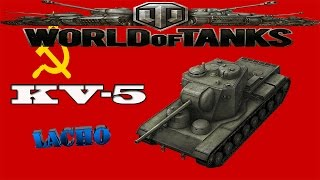 World of Tanks KV-5 Gameplay - 9 Kills 5K DMG