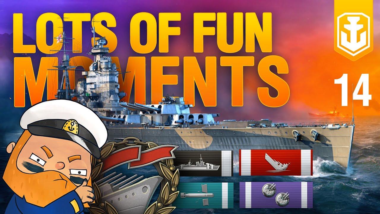 World of Warships Funny Moments #14. Expectations vs. Reality
