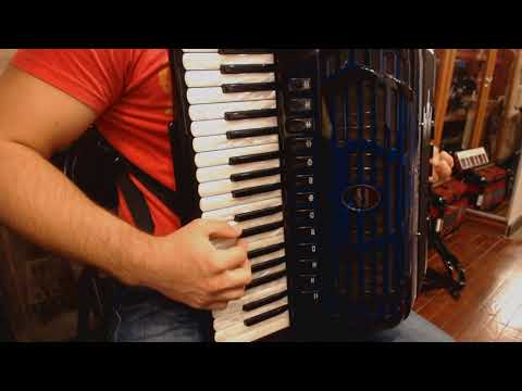 How to Play Balkan Music on Piano Accordion - Lesson 10 - Rustem Style