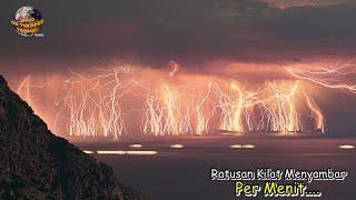 Super Dahsyat.!! Fenomena-Fenomena Hujan Petir Paling Ekstrem di Dunia
