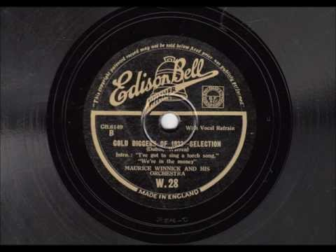 """""""Gold Diggers of 1933"""" Selection - Maurice Winnick & his Orchestra - 1933"""