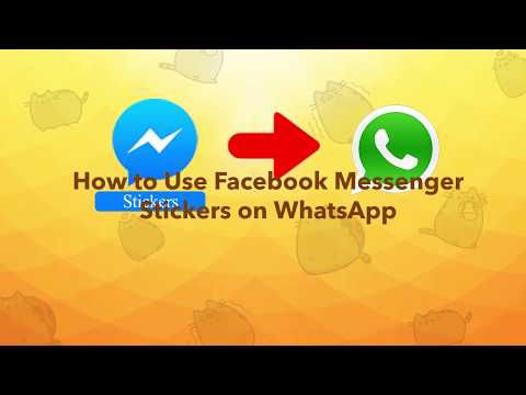 How To Use Facebook Messenger Stickers On WhatsApp
