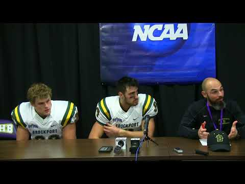 College at Brockport Talks Their Semi-Final Loss to UMHB