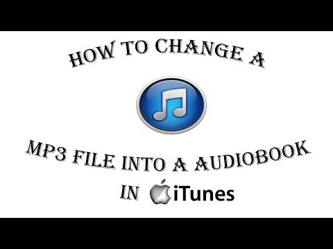How to change a Music MP3 File into a Audiobook in iTunes Tip 5