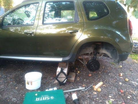 Renault Duster/Kaptur: Замена втулок и стоек стабилизатора