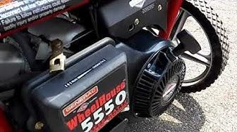 GovDeals: Generac Wheel House 5550 Heavy Duty Generator