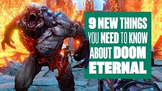 9 Things You Need To Know About New DOOM Eternal Gameplay - DOOM ETERNAL GAMEPLAY REVEAL E3 2019
