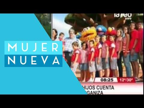 ¡15 hijos! Madre revela cómo organiza a su numerosa familia