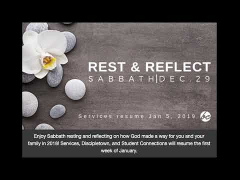 Rest & Reflection Sabbath