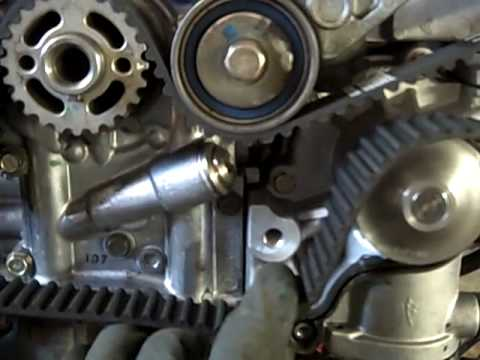 Subaru 25l Timing Belt Replacement (2002 Forester) - YouTube