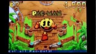 Pac-Man Pinball Advance on GBA