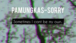 Lagu Pamungkas-sorry (with liric)