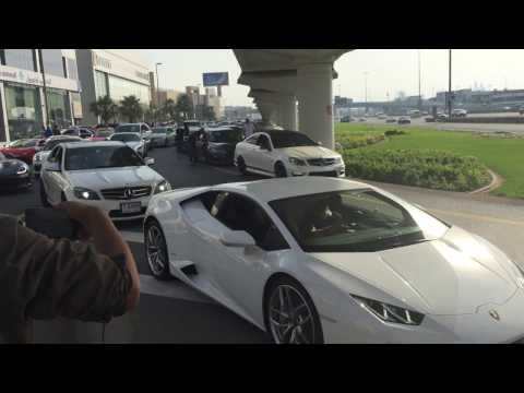 Dubai - World's most expensive traffic jam