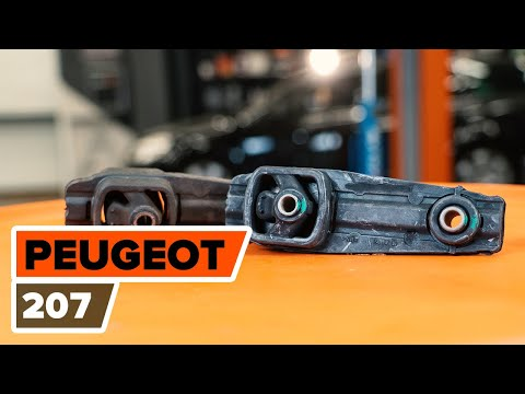 How to replace engine mount onPEUGEOT 207[TUTORIAL AUTODOC]