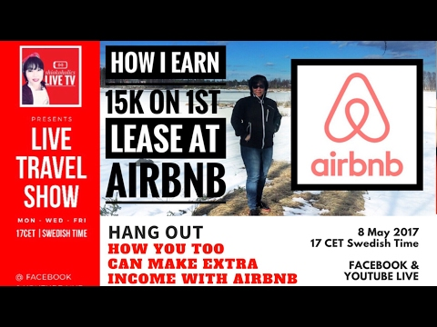 🔴Live: How To earn money with bed and breakfast at Airbnb