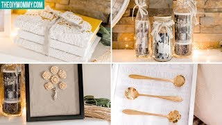 One of The DIY Mommy's most viewed videos: How to Display Family Heirlooms in Your Home | Inspired by The Goldfinch
