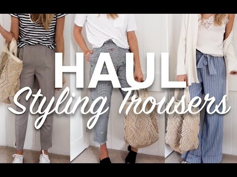 Trouser Haul | Styling Trousers | Try On & First Impressions