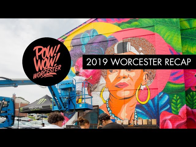 POW! WOW! Worcester 2019