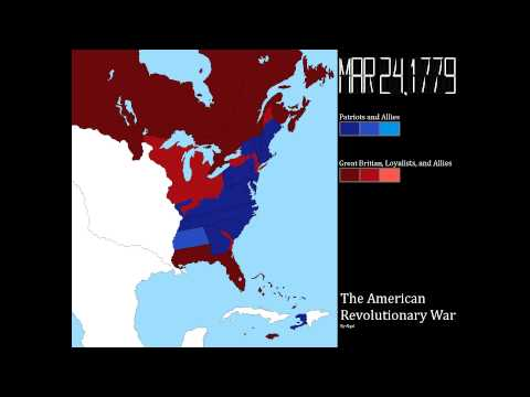 The American Revolutionary War: Every Week