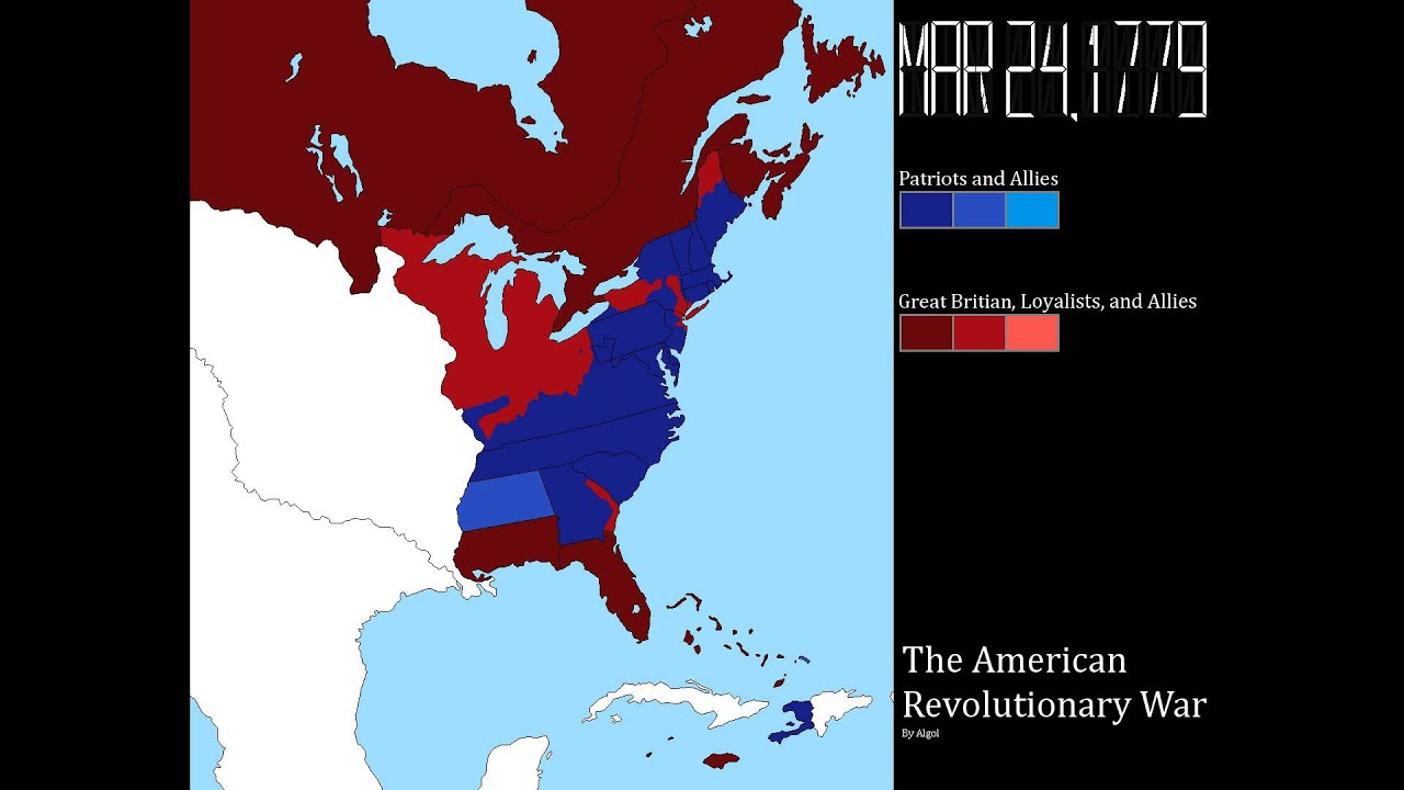 The American Revolutionary War: Every Week - YouTube
